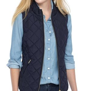 Crown and Ivy Sleeveless Quilted Vest